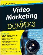 Cover-Bild zu Daum, Kevin: Video Marketing For Dummies (eBook)
