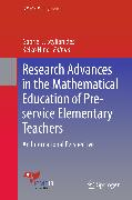 Cover-Bild zu Stylianides, Gabriel J. (Hrsg.): Research Advances in the Mathematical Education of Pre-service Elementary Teachers (eBook)