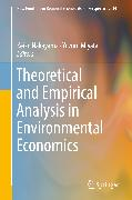 Cover-Bild zu Nakayama, Keiko (Hrsg.): Theoretical and Empirical Analysis in Environmental Economics (eBook)