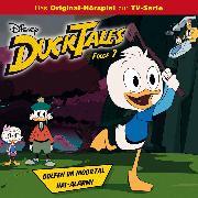 Cover-Bild zu Disney - DuckTales - Folge 7: Golfen im Moortal / Hai-Alarm! (Audio Download) von Arnold, Monty