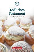 Cover-Bild zu Die DaF-Bibliothek, A2/B1, Tödliches Testament, Spurlos verschwunden, Lektüre, Mit Audios online von Baumgarten, Christian