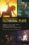 Cover-Bild zu Etchells, Tim: The Methuen Drama Anthology of Testimonial Plays (eBook)