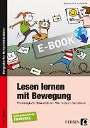 Cover-Bild zu Lesen lernen mit Bewegung (eBook) von Vollstedt, Iris
