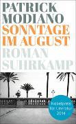 Cover-Bild zu Modiano, Patrick: Sonntage im August