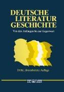 Cover-Bild zu Beutin, Wolfgang: Deutsche Literaturgeschichte (eBook)