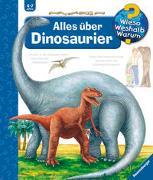 Cover-Bild zu Mennen, Patricia: Wieso? Weshalb? Warum? Alles über Dinosaurier (Band 12)
