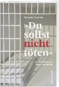 """Cover-Bild zu Corbin, Ursula: """"Du sollst nicht töten"""""""