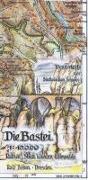 Cover-Bild zu Die Bastei 1 : 10 000 von Böhm, Rolf
