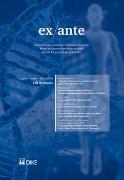 Cover-Bild zu Bernet, Stephanie (Hrsg.): ex ante 02/2016 Life Science