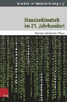 Cover-Bild zu Lenz, Alexandra N. (Hrsg.): Standarddeutsch im 21. Jahrhundert