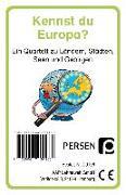 Cover-Bild zu Kennst du Europa? von Finkenstein, Josephine