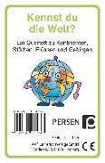 Cover-Bild zu Kennst du die Welt? von Finkenstein, Josephine