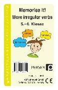 Cover-Bild zu Memorise it! More irregular Verbs (eBook) von Finkenstein, Josephine