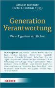 Cover-Bild zu Bochmann, Christian (Hrsg.): Generation Verantwortung