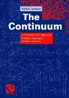 Cover-Bild zu The Continuum von Taschner, Rudolf