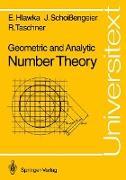 Cover-Bild zu Geometric and Analytic Number Theory von Hlawka, Edmund