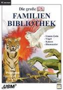 Cover-Bild zu Die große Dorling Kindersley Familienbibliothek - Unsere Erde, Katzen, Vögel und Dinosaurier (DVD-ROM) von United Soft Media Verlag GmbH (USM) (Hrsg.)