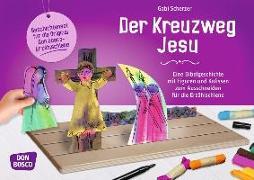 Cover-Bild zu Der Kreuzweg Jesu von Scherzer, Gabi