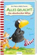Cover-Bild zu Der kleine Rabe Socke: Alles gelacht! von Rudolph, Annet (Illustr.)