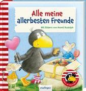 Cover-Bild zu Der kleine Rabe Socke: Alle meine allerbesten Freunde von Rudolph, Annet (Illustr.)