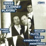 Cover-Bild zu Friedli, Thomas (Komponist): Swiss Clarinet Players