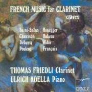 Cover-Bild zu Friedli, Thomas (Komponist): French Music For Clarinet