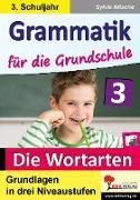 Cover-Bild zu Grammatik für die Grundschule - Die Wortarten / Klasse 3 (eBook) von Nitsche, Sylvia