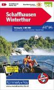 Cover-Bild zu Schaffhausen - Winterthur Nr. 01 Velokarte 1:60 000. 1:60'000