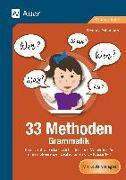 Cover-Bild zu 33 Methoden Grammatik von Pohlmann, Stefanie