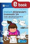 Cover-Bild zu Dreifach differenziert Grammatik 3/4 (eBook) von Pohlmann, Stefanie