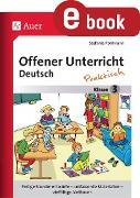 Cover-Bild zu Offener Unterricht Deutsch - praktisch Klasse 3 (eBook) von Pohlmann, Stefanie