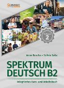 Cover-Bild zu Spektrum Deutsch B2: Teilband 2 von Buscha, Anne