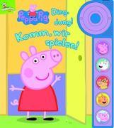 Cover-Bild zu Phoenix International Publications Germany GmbH (Hrsg.): Peppa Pig - Ding, dong! Komm, wir spielen! - Soundbuch