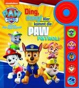 Cover-Bild zu Phoenix International Publications Germany GmbH (Hrsg.): PAW Patrol - Ding, dong! Hier kommt die PAW Patrol - Soundbuch - Pappbilderbuch mit Klingelknopf