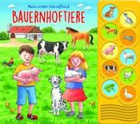 Cover-Bild zu Phoenix International Publications Germany GmbH (Hrsg.): 10-Button-Soundbuch, Bauernhoftiere
