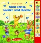 Cover-Bild zu Phoenix International Publications Germany GmbH (Hrsg.): Meine ersten Lieder und Reime - Vorlese-Pappbilderbuch mit Sound