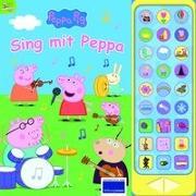 Cover-Bild zu Phoenix International Publications Germany GmbH (Hrsg.): Peppa Pig - Sing mit Peppa Pig - 27-Button-Soundbuch mit 24 Seiten für Kinder ab 3 Jahren - mit bekannten Kinderliedern und Geräuschen