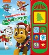 Cover-Bild zu Phoenix International Publications Germany GmbH (Hrsg.): Nickelodeon PAW Patrol: Countdown bis Weihnachten! Pappbilderbuch mit 7 Sounds