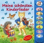 Cover-Bild zu Phoenix International Publications Germany GmbH (Hrsg.): 8-Button-Soundbuch, Meine schönsten Kinderlieder