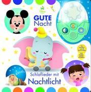 Cover-Bild zu Phoenix International Publications Germany GmbH (Hrsg.): Nachtlichtbuch, Disney Baby, Gute Nacht - Schlaflieder mit Nachtlicht