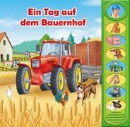 Cover-Bild zu Phoenix International Publications Germany GmbH (Hrsg.): 8-Button-Soundbuch, Ein Tag auf dem Bauernhof