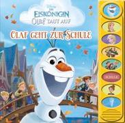 Cover-Bild zu Phoenix International Publications Germany GmbH (Hrsg.): Disney - Die Eiskönigin - Olaf taut auf - Olaf geht zur Schule - 8-Button-Soundbuch - interaktives Bilderbuch mit 8 lustigen Geräuschen