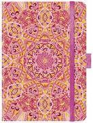 """Cover-Bild zu Premium Timer Midi """"Pink Orient"""" 2022 von Korsch, Verlag (Hrsg.)"""