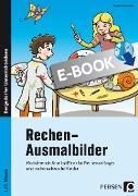 Cover-Bild zu Rechen-Ausmalbilder (eBook) von Kirschbaum, Klara