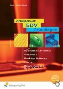 Cover-Bild zu Arbeitsbuch EDV-Grundlagen von Braun, Frank