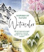 Cover-Bild zu Watercolor inspired by Nature (eBook)
