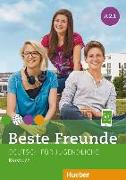 Cover-Bild zu Beste Freunde A2/1. Kursbuch von Georgiakaki, Manuela