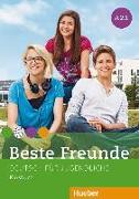Cover-Bild zu Beste Freunde A2 Paket Kursbuch A2/1 und A2/2 von Georgiakaki, Manuela