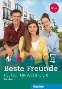Cover-Bild zu Beste Freunde B1/2. Kursbuch von Georgiakaki, Manuela
