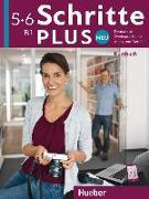 Cover-Bild zu Schritte plus Neu 5+6 B1 Kursbuch von Hilpert, Silke
